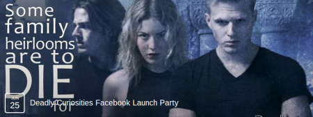Deady Curiosities Facebook Launch Party